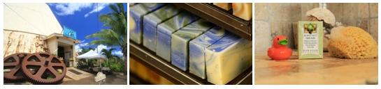 ハワイのノースショアソープファクトリーのお店の画像