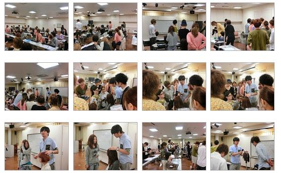 2011ヘアカラーダイレクションスキルアップ講習のギャラリー