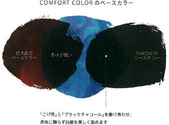 スローのコンフォートカラーのベースカラー説明図